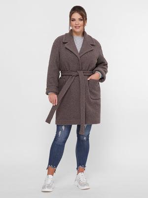Пальто коричневое   5224198