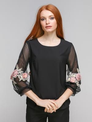 Блуза черная | 5216659