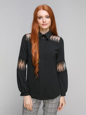 Блуза черная | 5216650