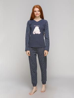 Піжама: лонгслів і штани | 5221025