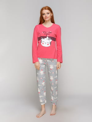 Пижама: лонгслив и брюки | 5221033