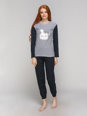 Піжама: лонгслів і штани | 5221031