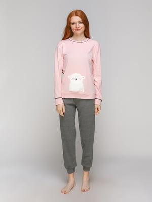 Піжама: лонгслів і штани | 5221030