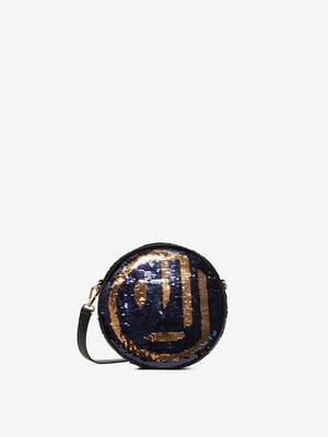 Сумка в синьо-золотава | 5216319