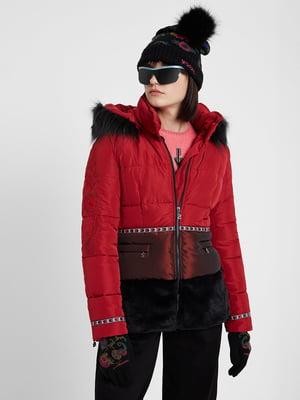 Куртка червоно-чорна   5224804