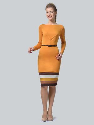 Сукня гірчичного кольору | 5224259