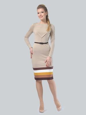 Сукня пісочного кольору | 5224260