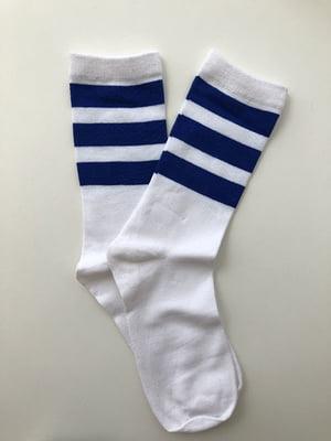 Шкарпетки білі в смужку   5225089