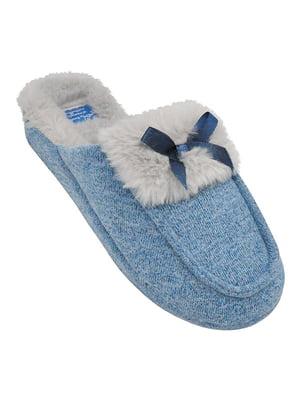 Тапочки голубые | 5225233