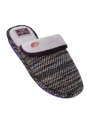 Тапочки фиолетовые | 5225252