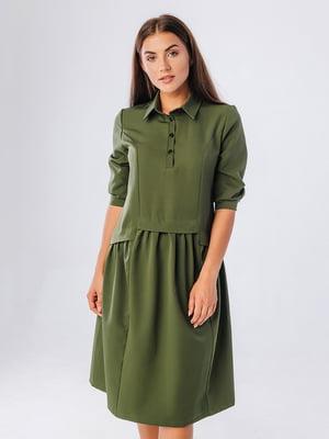 Сукня кольору хакі | 5225864