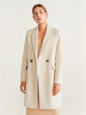 Пальто молочного цвета | 5188742