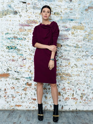 Сукня кольору темної фуксії | 5227614