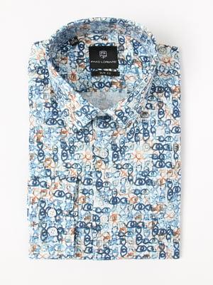 Рубашка в принт | 5227624