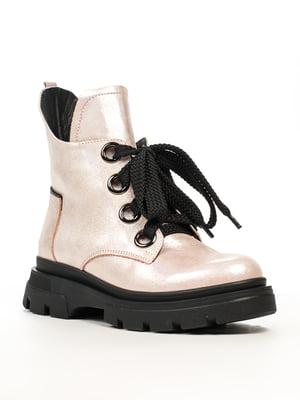 Ботинки цвета пудры | 5219904