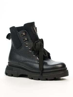 Ботинки черные | 5220329