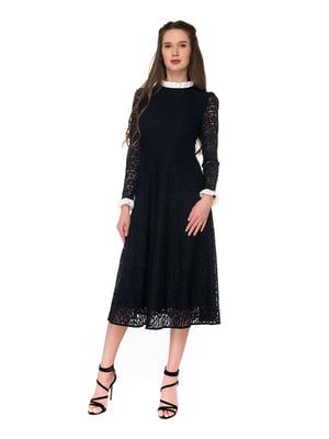 Сукня чорна з декором   5227803