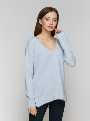Пуловер світло-блакитний | 3722801