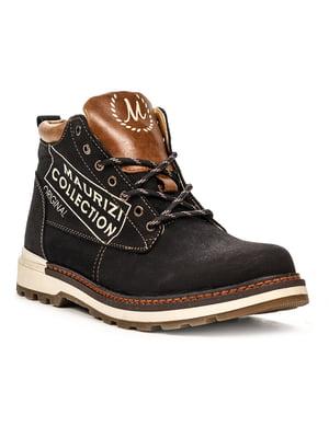 Ботинки черно-коричневые | 5219006