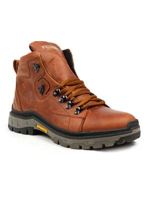 Ботинки рыжие | 5225018