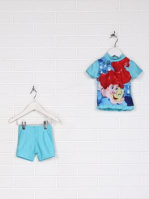 Купальник: футболка и шорты | 5228844