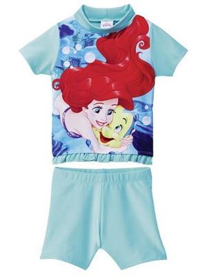 Купальник: футболка и шорты | 5229118