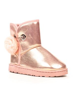 Полусапожки розовые | 5224820