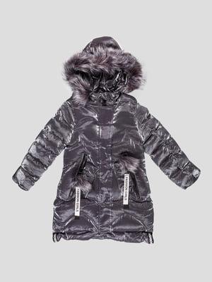 Пальто сіре   5228748