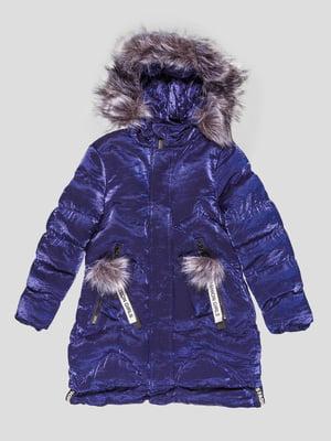 Пальто синее   5228747