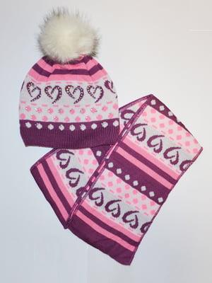 Комплект: шапка і шарф   5231138