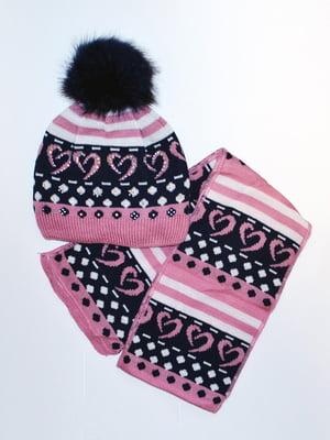 Комплект: шапка і шарф   5231139