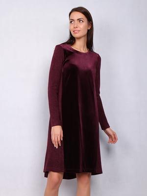 Платье бордовое | 4836904