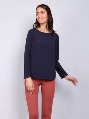 Блуза синяя   5109694