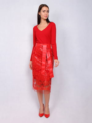Платье красное   5109824