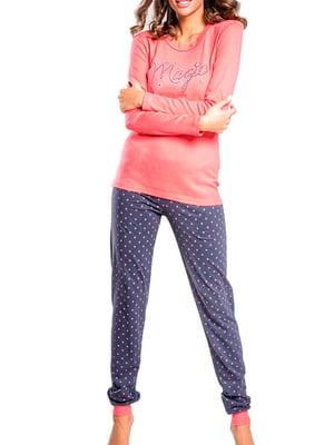 Комплект домашний: лонгслив и брюки | 5231265