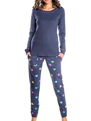 Комплект домашний: лонгслив и брюки | 5231266