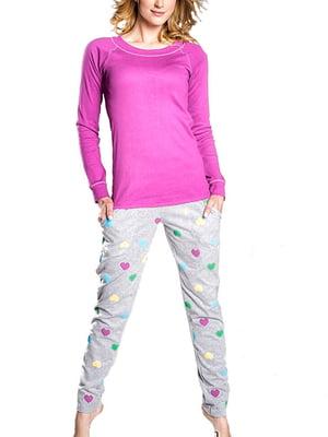 Комплект домашний: лонгслив и брюки | 5231267