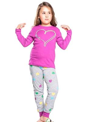 Комплект домашний: джемпер и брюки | 5231276