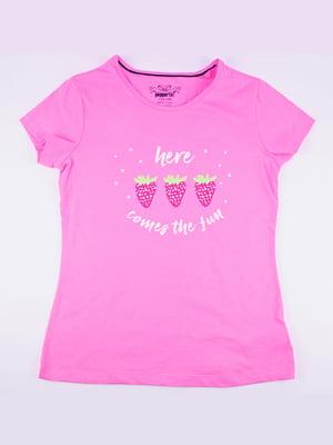 Футболка розовая   5232055