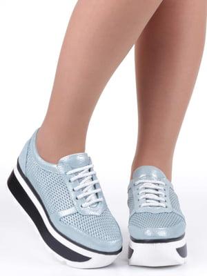 Кроссовки голубые | 5232258