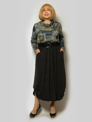 Платье серое | 5232389