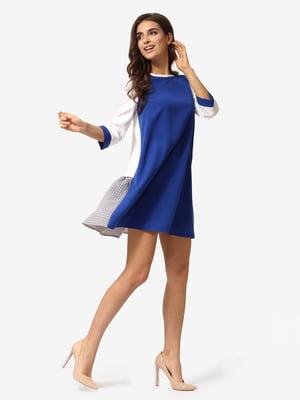 Платье цвета синий электрик | 5232500