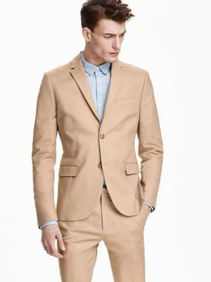 Пиджак бежевый | 5233061