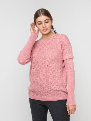 Джемпер розовый | 5237685