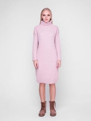 Платье цвета пудры | 5237713