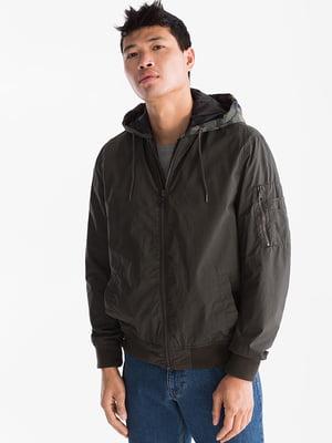 Куртка кольору хакі   5232436