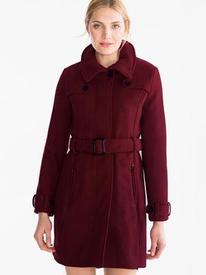 Пальто бордове | 5232468