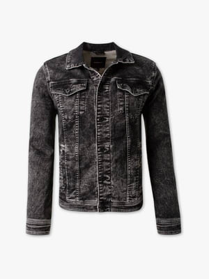 Куртка джинсовая темно-серая | 5232514
