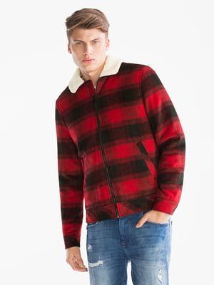 Куртка черно-красная | 5241231