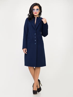 Пальто темно-синє | 5218967